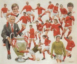 Manchester United - European Champions 1968 by Peter Deighan.