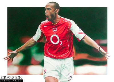 Thierry Henry by Robert Highton