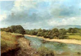 Trout Fishing, County Mayo by Clive Madgwick