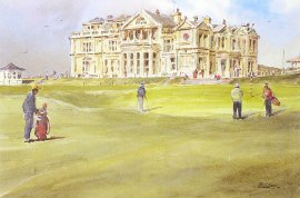 Hesitation at St. Andrews by Robert Wade.