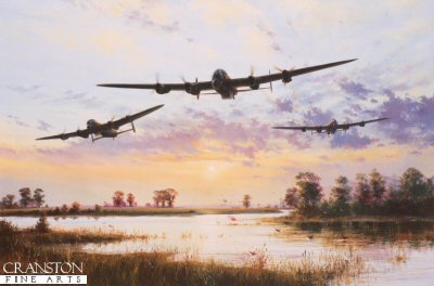 Dam Busters Setting Off by Simon Atack.