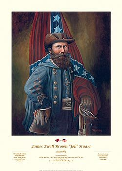 James Ewell Brown JEB Stuart by William Meijer.