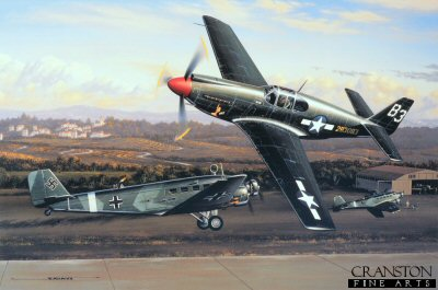 The First Mustang Ace  by Stan Stokes.
