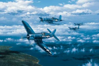 Black Sheep Over Rabaul by Stan Stokes.