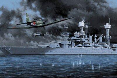 Battleship Row by Stan Stokes.