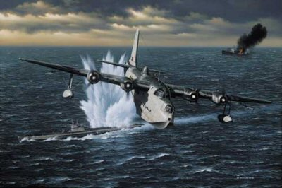 War in the Atlantic by Stan Stokes.