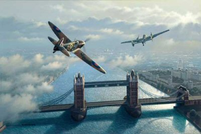 Battle of Britain by Stan Stokes.
