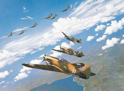 Flying Tigers by Stan Stokes.