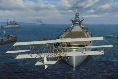 The Navy Earns its Wings by Stan Stokes.