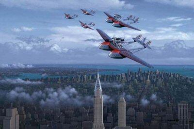 Balbo's Amazing Flight by Stan Stokes.