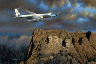 Air Force One by Stan Stokes.