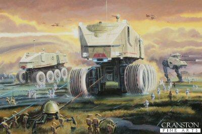 Juggernauts, Battle of Kashyyyk by David Pentland. (P)
