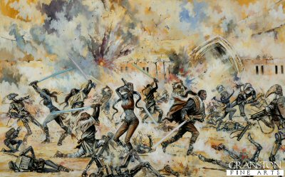 Geonosis Arena Battle by Jason Askew. (P)