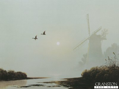 Mill in the Mist by Gerald Coulson.