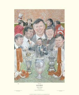 Sir Alex Ferguson by Stephen Doig.