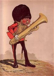 Bandsman by Major T. S. Seccombe (P)