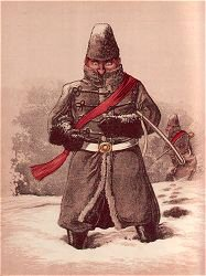 Uniform Worn Amid Canadian Snows by Major T. S. Seccombe (P)