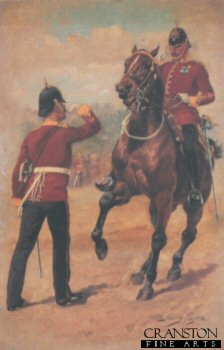 UN007.  Hampshire Regiment by Harry Payne. <b><p>Open edition print. <p> Image size 7 inches x 12 inches (18cm x 31cm)