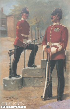 Manchester Regiment by Harry Payne.