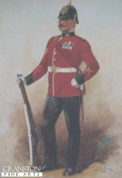 Dorsetshire Regiment by Harry Payne.