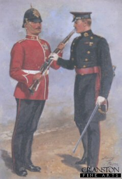 The Duke of Wellingtons West Riding Regiment by Harry Payne.