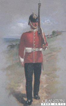 East Lancashire Regiment by Harry Payne.