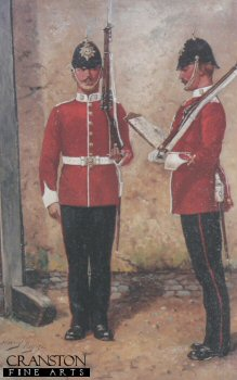 The Loyal North Lancashire Regiment by Harry Payne.