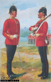 The East Kent Regiment (The Buffs) by Harry Payne.