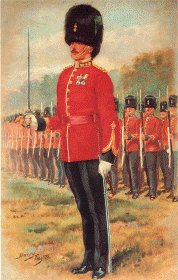 Royal Irish Fusiliers by Harry Payne.