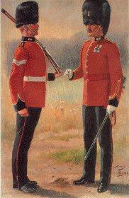 Royal Dublin Fusiliers by Harry Payne.