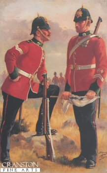 Connaught Rangers by Harry Payne.