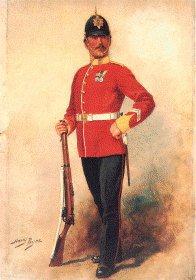 Suffolk Regiment by Harry Payne.