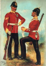 Norfolk Regiment by Harry Payne.