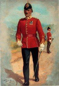 Duke of Cornwall Light Infantry by Harry Payne.