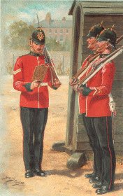 Durham Light Infantry by Harry Payne.