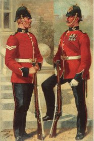 Shropshire Light Infantry by Harry Payne.