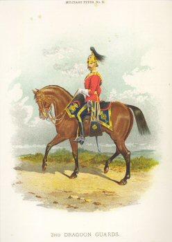 2nd Dragoon Guards by Richard Simkin.  (P)