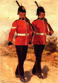 Kings Own Yorkshire Light Infantry by Harry Payne.