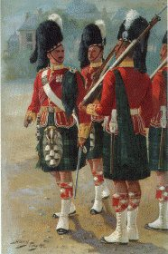 Argyll and Sutherland Highlanders by Harry Payne.