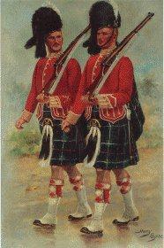 Seaforth Highlanders by Harry Payne.