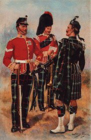 Highland Light Infantry Regiment by Harry Payne.