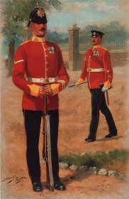 Middlesex Regiment by Harry Payne.