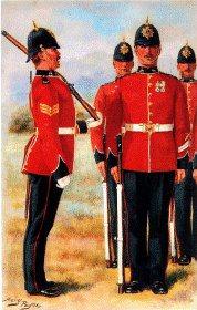 Warwickshire Regiment by Harry Payne.
