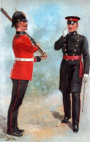 Liverpool Regiment by Harry Payne.