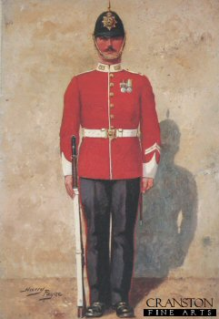 South Staffordshire Regiment by Harry Payne.