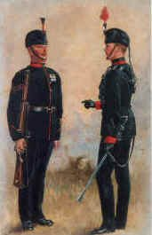 Kings Royal Rifles by Harry Payne.