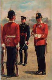 East Surrey Regiment by Harry Payne.