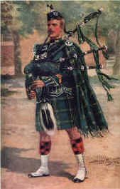 Piper, The Gordon Highlanders by Harry Payne.