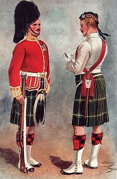 The Gordon Highlanders by Harry Payne