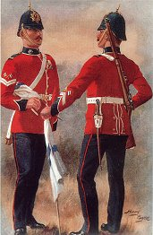 The Royal Irish Regiment by Harry Payne